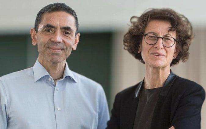 Dr Ugur Sahin and his wife, Dr Özlem Türeci, the founders of BioNTech, staked the future of their company on their belief that a pandemic was coming