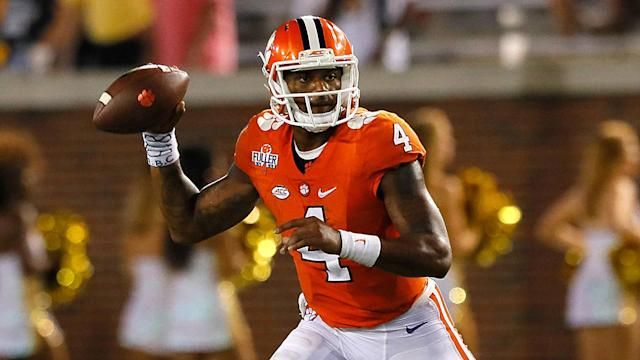 Deshaun Watson's college coach talked up the national champion signal-caller at Clemson's Pro Day as one would expect, but Dabo Swinney is right.