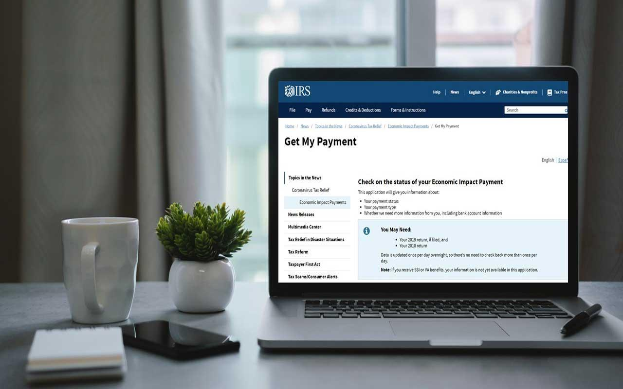 Track Your Stimulus Check with the IRS's Get My Payment Tool