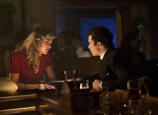 "Arielle Kebbel as Lexi and Ian Somerhalder as Damon in ""We'll Always Have Bourbon Street,"" the eighth episode of ""The Vampire Diaries"" Season 4."