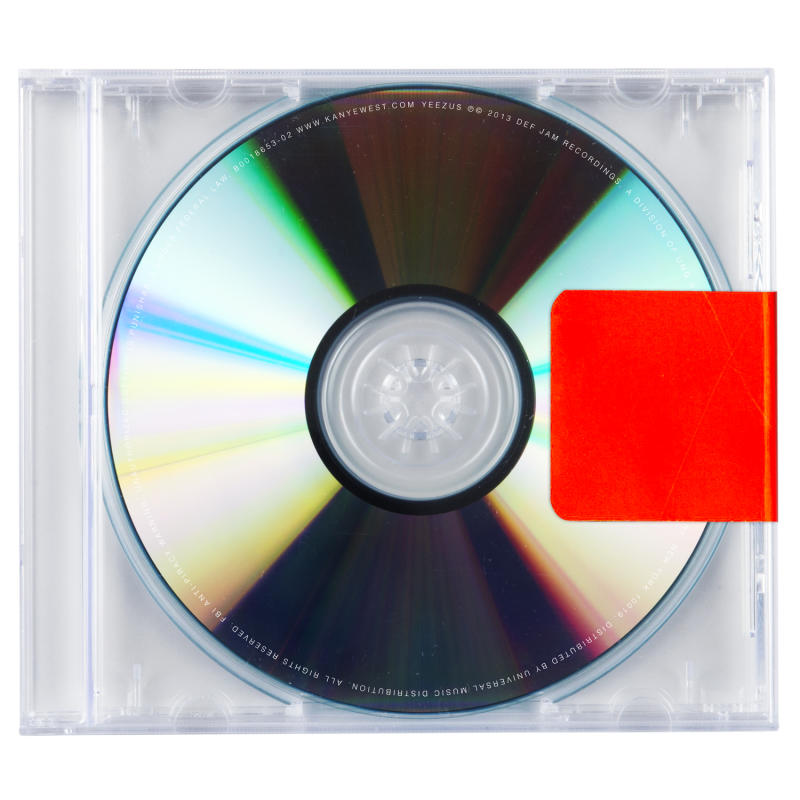 "This CD cover image released by Def Jam Recordings shows ""Yeezus,"" the latest release by Kanye West. (AP Photo/Def Jam Recordings)"