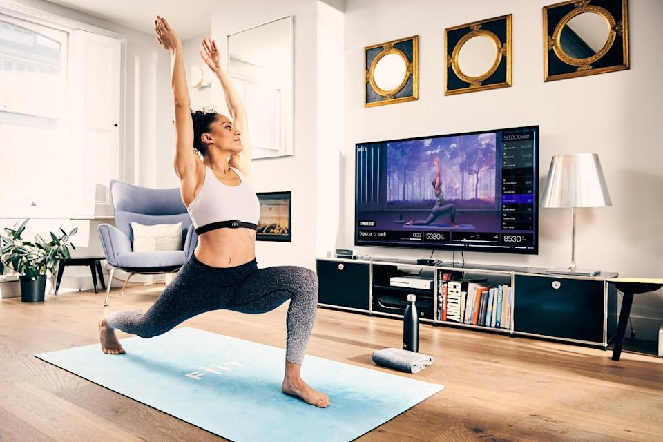 Fiit offers yoga, barre, HIIT and strength classes on the app