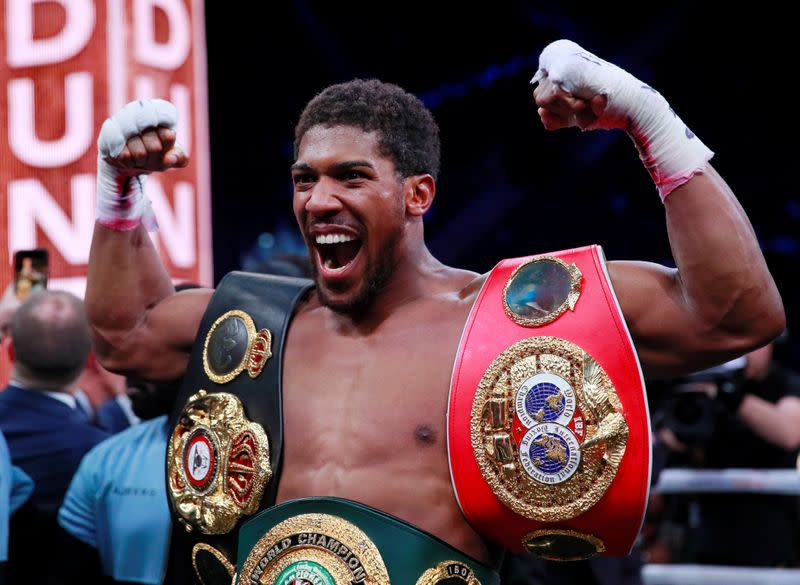 Spurs stadium 'front-runner' for Joshua's next bout: promoter
