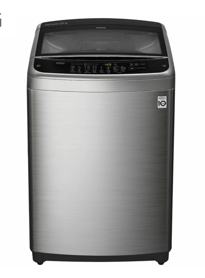 LG 9kg Top Load Washing Machine With Smart Inverter Control, $935,