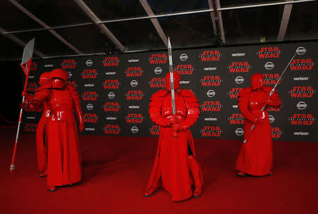 "World Premiere of ""Star Wars: The Last Jedi"" – Arrivals – Los Angeles"