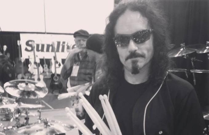 Nick Menza was a professional drummer who was a member of Megadeth from 1989-98 and again 2004. On May 21, he died onstage of a heart attack while performing at the Baked Potato in Studio City, Calif. He was 51 years old. (Photo: Complex)