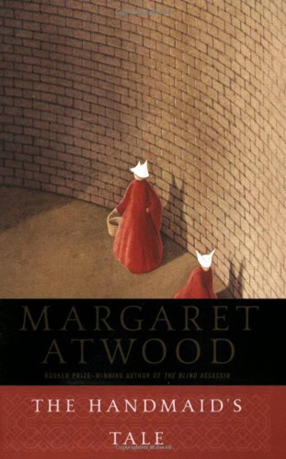 "<p><a href=""https://www.popsugar.com/buy?url=https%3A%2F%2Fwww.amazon.com%2FHandmaids-Tale-Margaret-Atwood%2Fdp%2F038549081X%2Fref%3Dtmm_pap_swatch_0%3F_encoding%3DUTF8%26qid%3D1488929643%26sr%3D1-1&p_name=%3Cb%3EThe%20Handmaid%27s%20Tale%3C%2Fb%3E%20by%20Margaret%20Atwood&retailer=amazon.com&evar1=tres%3Auk&evar9=43250262&evar98=https%3A%2F%2Fwww.popsugar.com%2Flove%2Fphoto-gallery%2F43250262%2Fimage%2F43252236%2FHandmaid-Tale-Margaret-Atwood&list1=books%2Cwomen%2Creading%2Cinternational%20womens%20day%2Cwomens%20history%20month&prop13=api&pdata=1"" class=""link rapid-noclick-resp"" rel=""nofollow noopener"" target=""_blank"" data-ylk=""slk:The Handmaid's Tale by Margaret Atwood""><b>The Handmaid's Tale</b> by Margaret Atwood</a></p>"