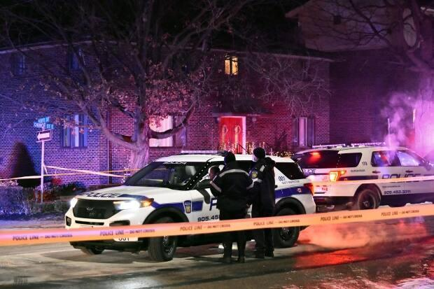 The shooting occurred inside a Brampton residence late in the evening on Dec. 17, 2020. (Jeremy Cohn/CBC - image credit)