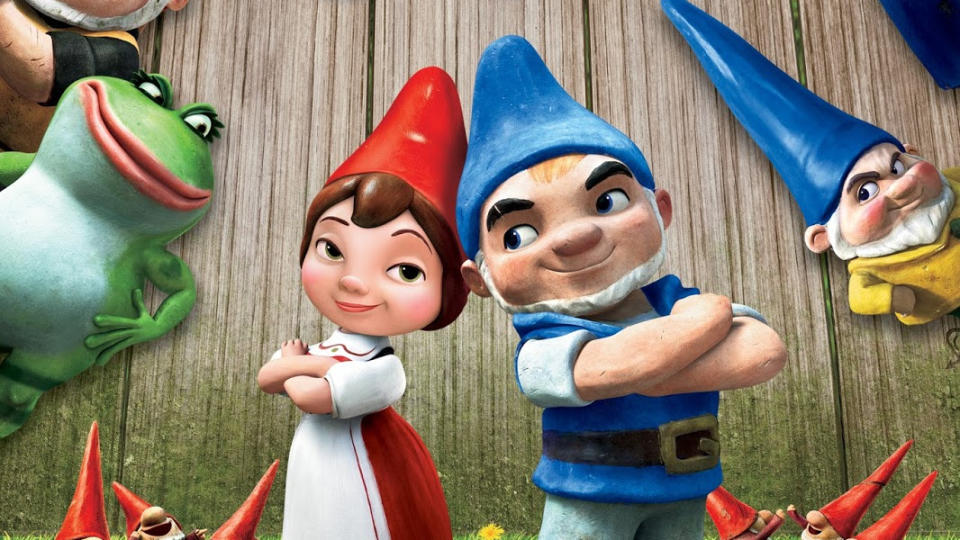 'Gnomeo and Juliet'. (Credit: Disney/eOne)