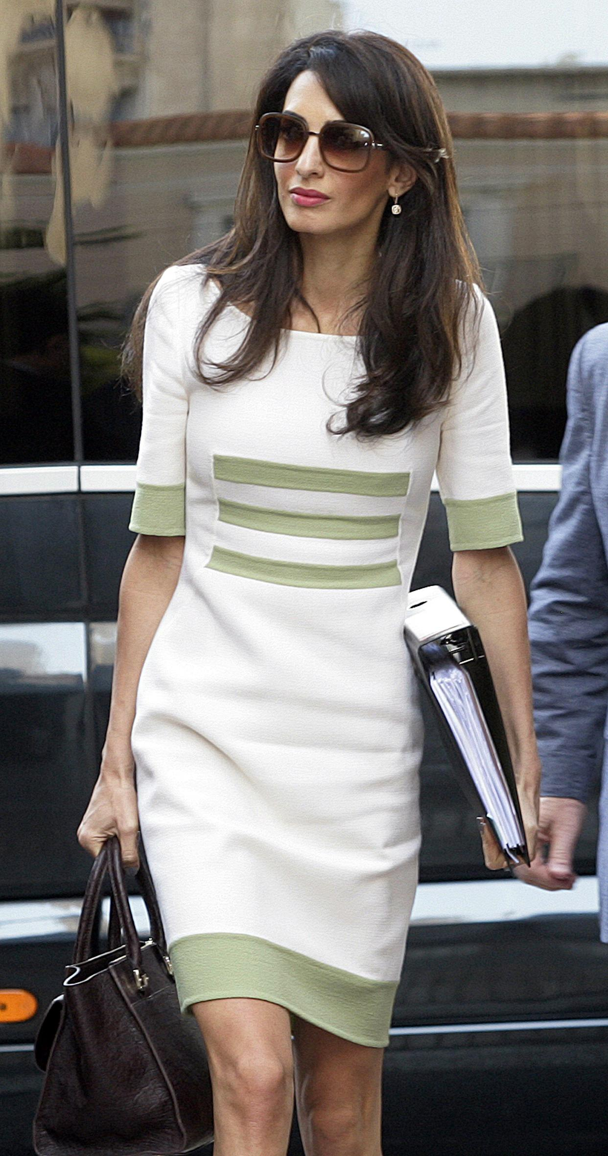 Amal Alamuddin Clooney Arrives in Athens to Advise on Return of Parthenon Marbles