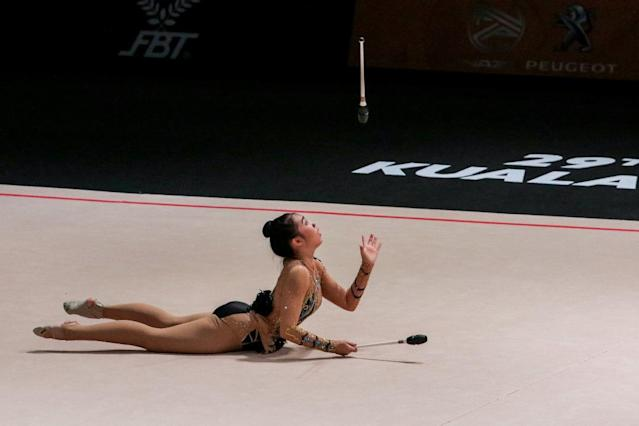 Malaysia's rhythmic gymnasts steal stage at SEA Games