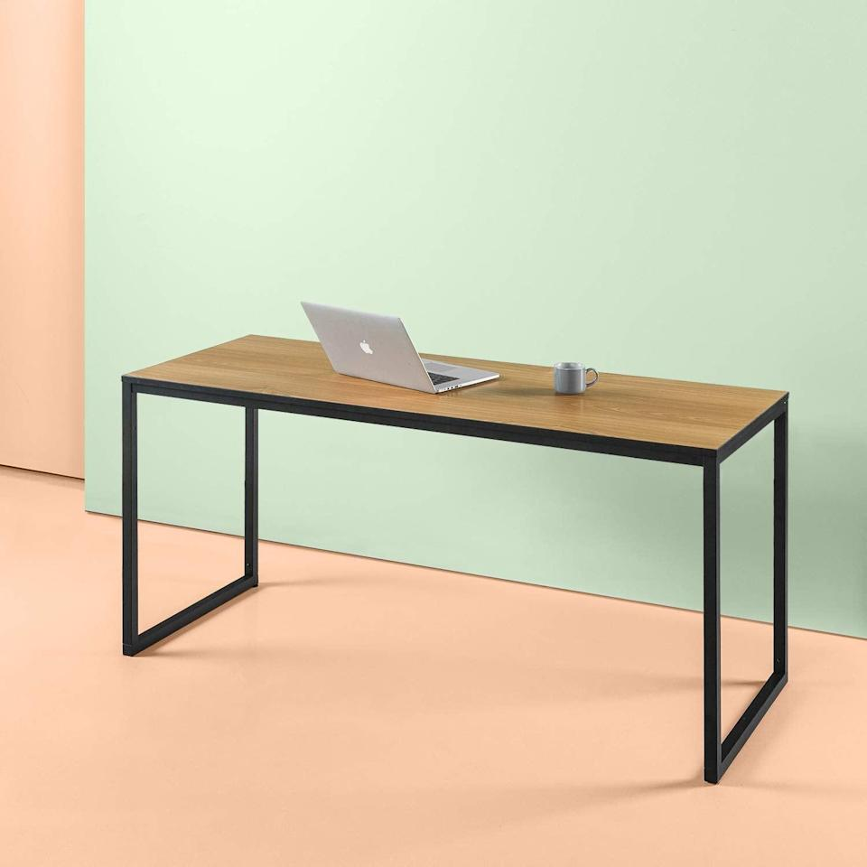 <p>Need a simple work space? Give this <span>Zinus Modern Studio Collection Soho Rectangular Table</span> ($188) a try.</p>