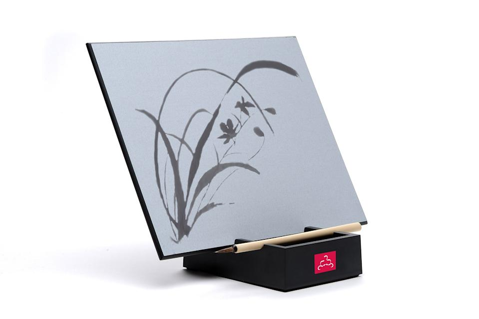 Create mindful art with the Buddha Board tablet. (Photo: Buddha Board)