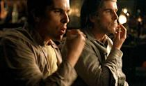 <p>Spoiler! Audiences were stunned to find out at the end of Christopher Nolan's 2006 magic-themed movie that Bale was playing a twin the whole time — to preserve the believability of a crowd-pleasing stage trick. <i>(Photo: Warner Bros.)</i></p>