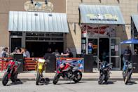 <p>Ohio allowed restaurants to open outdoor dining on May 15, and dining rooms are allowed to open on May 21 with reduced capacity and social distancing.</p>