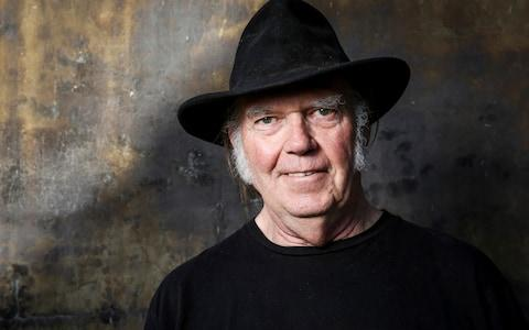 Still rocking: Neil Young - Credit: AP