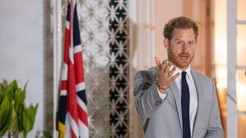 Palace distances itself from Harry's remarks on voting in US election