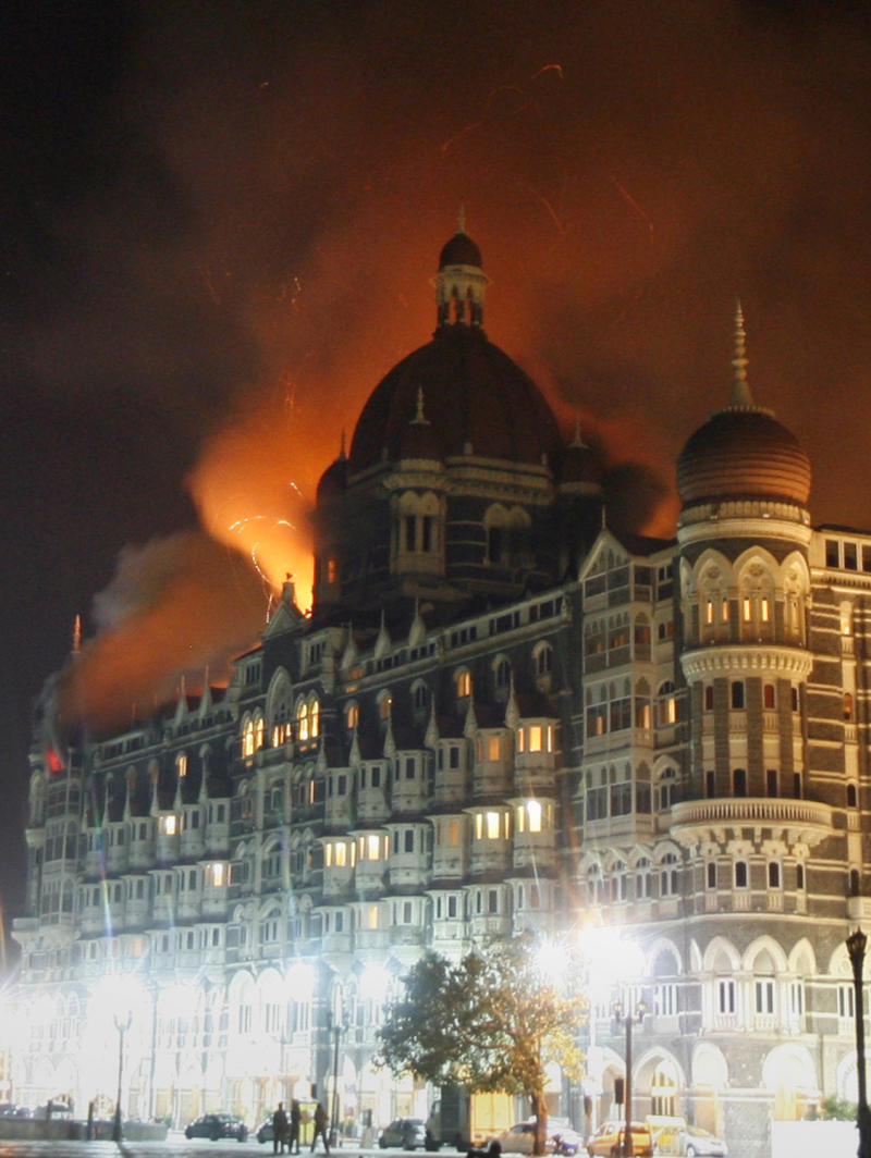 Gunmen held several people hostage during a three-day siege at the Taj Mahal Palace hotel.