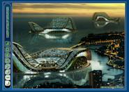 This floating Ecopolis has the double objective of not only widening sustainability in offshore territories of the most developed countries such as the Monaco principality, also grant housing to future climatic refugees of submerged ultra-marine territories such as the Polynesian atolls.