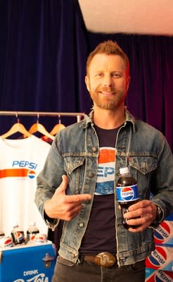 """Dierks Bentley in the """"This Is The Pepsi That Gets You Stuff"""" 2018 Pepsi Generations summer advertisement."""