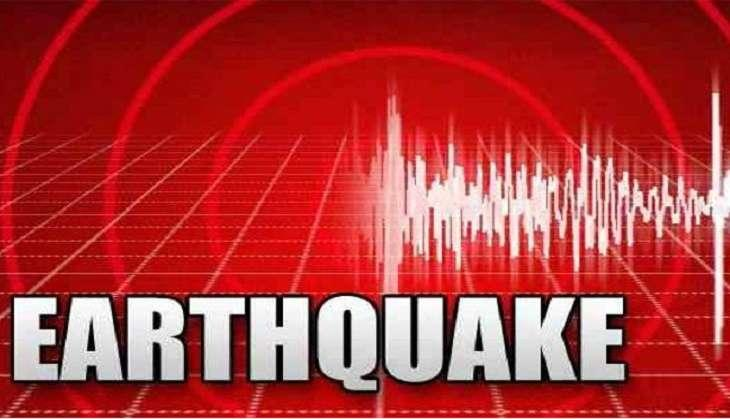 An earthquake struck central Italy today with the epicentre in an area covered by heavy snow which is struggling to recover from a string of deadly quakes last year.Monitors said the quake was around 5.4 magnitude. Tremors were felt across the Abruzzo, Lazio and Marche