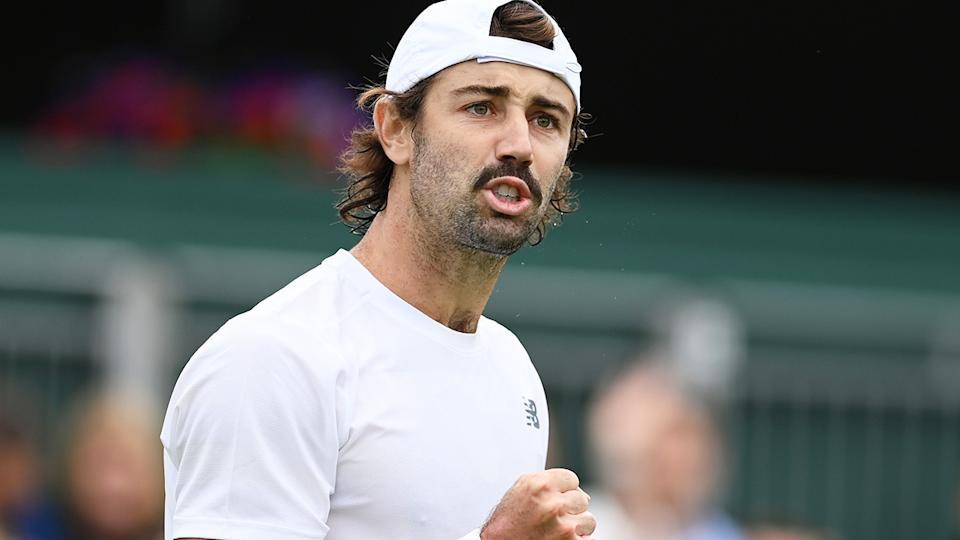 Jordan Thompson celebrated a five-set win over Casper Ruud, but later admitted he was unhappy with his performance.