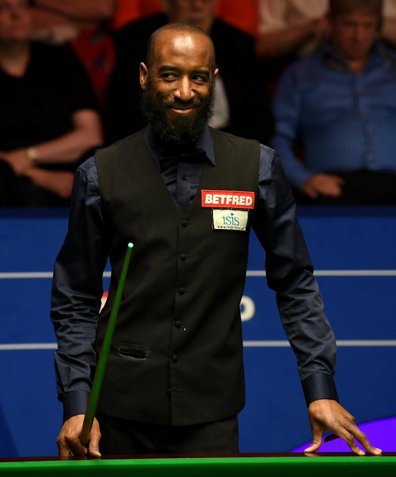 Lots to smile about: ISIS-supported Rory McLeod has been critical of snooker's authorities