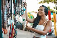 <p>Arts and crafts fairs can be a fun outing for adults and kids alike. Plus, they're usually outdoors, allowing for social distancing and some fresh air.</p>