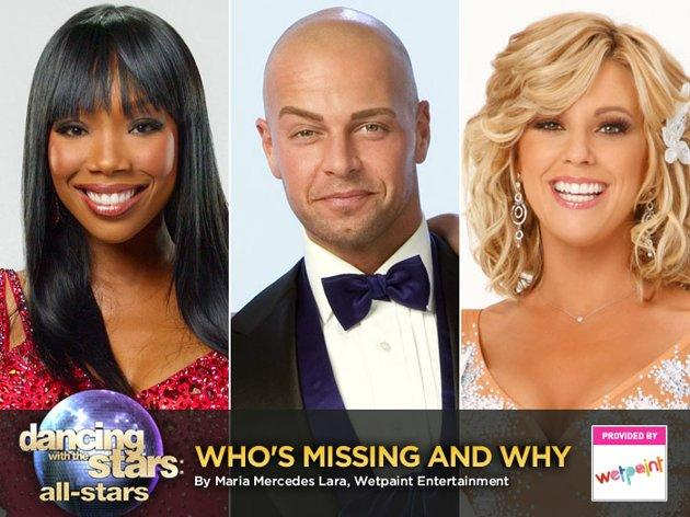 "Hey, it's not for everyone. ""Dancing With the Stars"" is launching its first ""All-Stars"" season on Monday, Sept. 24, with a roster made up of former champions, like Shawn Johnson and Apolo Ohno, and fan favorites, like Sabrina Bryan, from seasons past. However, not all of the returning stars were the producers' first choices. In fact, quite a few former contestants offered a polite ""no"" to an all-stars season. Take a look at some of the former ""DWTS"" contestants who brushed off a chance for another waltz around the ballroom"