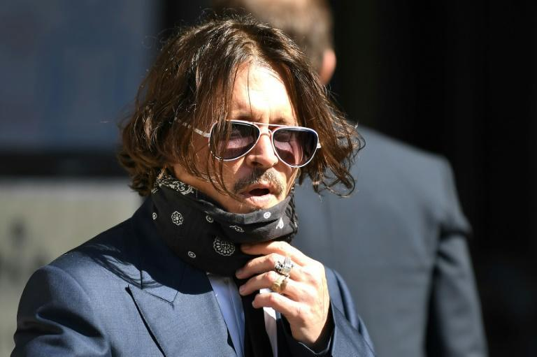 Both Depp and Heard were present at the first day of the London trial