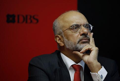 DBS CEO Piyush Gupta was quick to spot the threat posed by digital platforms. Photo: Reuters