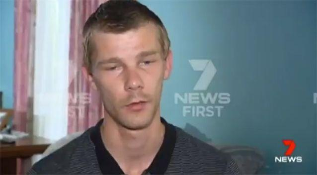 Mr Whithall's son spoke to Seven News. Source: Seven News
