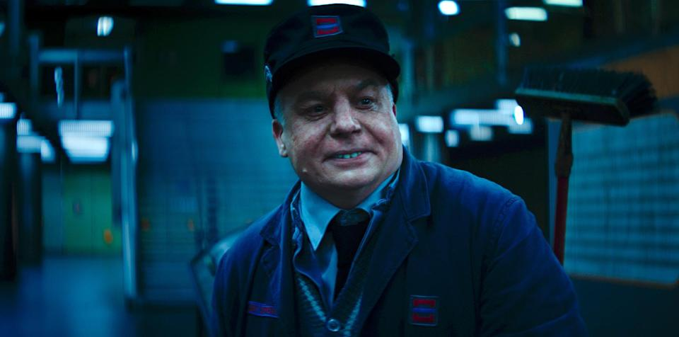 Mike Myers gets deep into character in <em>Terminal.</em> (Photo: Courtesy of RLJE Films)