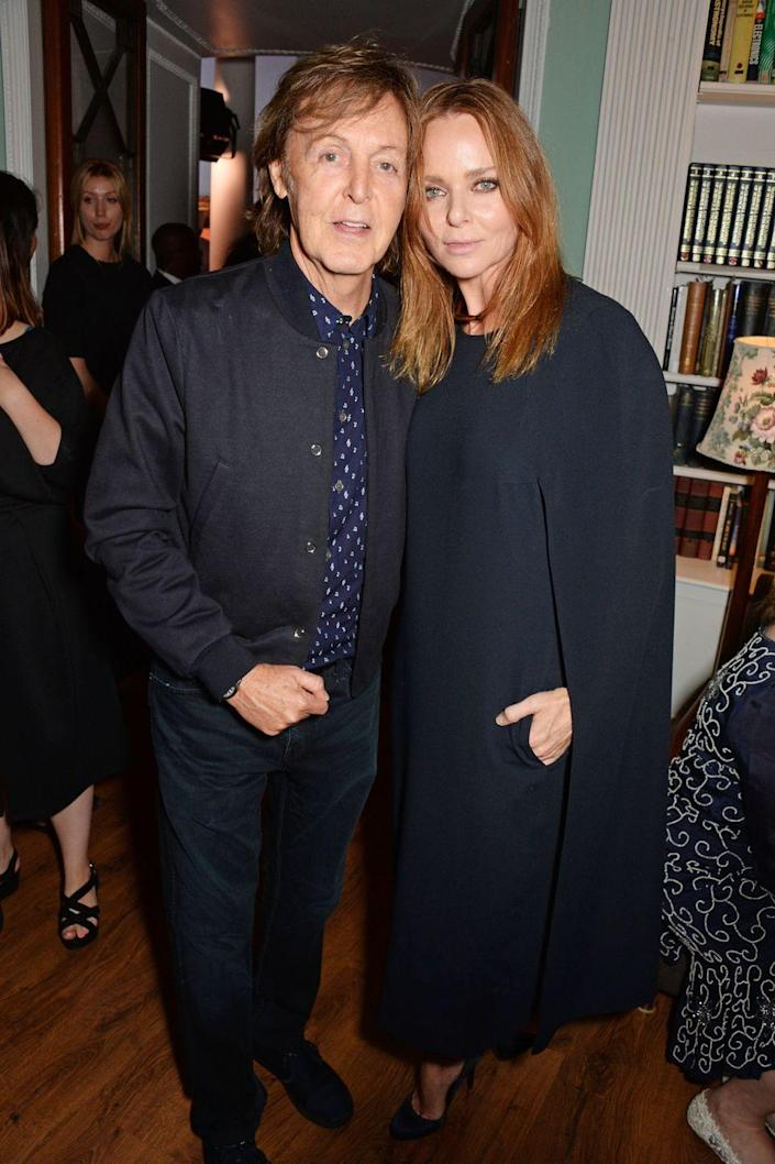 """<p><strong>Famous parent(s)</strong>: Beatle Paul McCartney <br><strong>What it was like</strong>: """"It certainly opened a lot of doors and certainly closed some minds,"""" she's <a href=""""http://edition.cnn.com/2014/11/26/business/stella-mccartney-parents-opened-doors/index.html"""" rel=""""nofollow noopener"""" target=""""_blank"""" data-ylk=""""slk:said"""" class=""""link rapid-noclick-resp"""">said</a>. """"So I think there was a balance.""""</p>"""