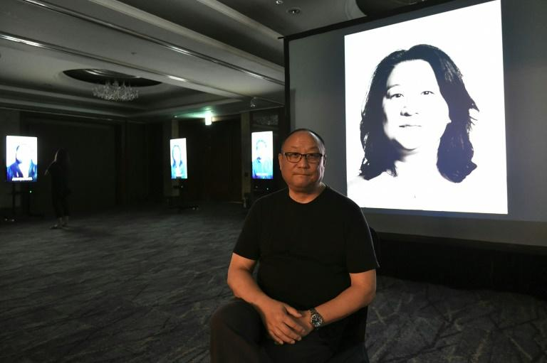 Korean-American filmmaker Glenn Morey was abandoned as a newborn, and adopted at six months by a white American couple (AFP Photo/Jung Yeon-je)
