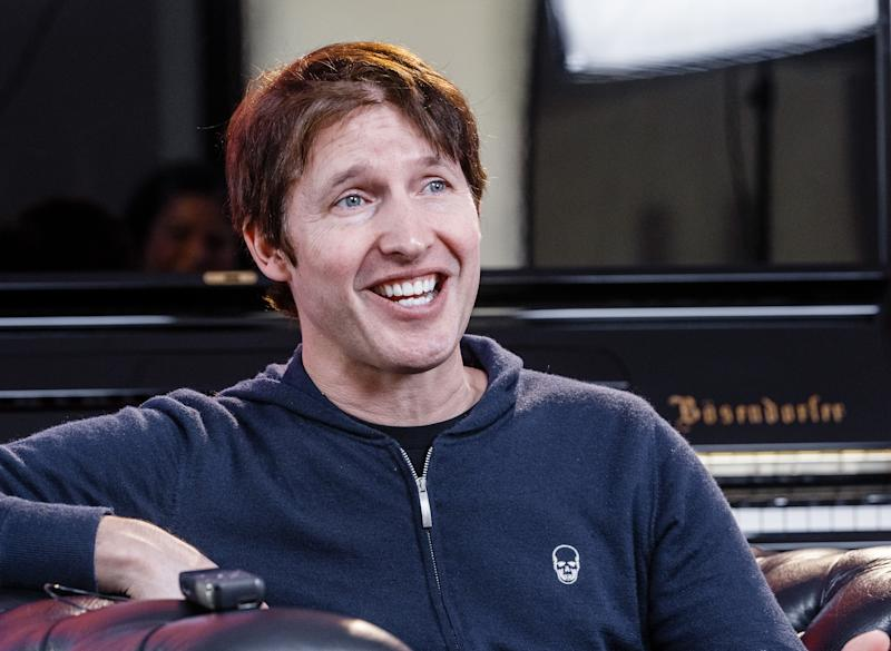 11 March 2020, Hamburg: The British singer-songwriter James Blunt speaks in a dpa interview before his concert in Hamburg's Elbphilharmonie, which is not allowed to be performed in front of an audience due to an order to contain the novel corona virus. Instead, the performance will be broadcast live on the Internet. Photo: Markus Scholz/dpa (Photo by Markus Scholz/picture alliance via Getty Images)