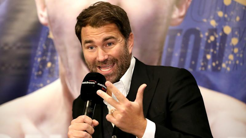 Eddie Hearn hoping 'Matchroom Square Gardens' upstages rival promoters