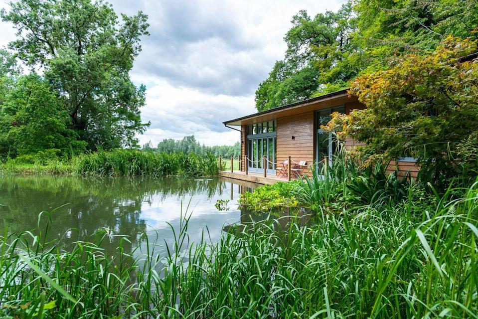 """<p>A lakeside retreat set close to the River Avon, Riverside Chronicles is surrounded by woodlands, trees, and water, giving you an unforgettable setting for an escape. It's rural, secluded and in touch with nature - the kind of place that inspires you to relax and slow down - maybe finally start writing that memoir?.</p><p>There's a dining spot on the deck for enjoying a drink and taking in the stunning sunsets, as well as a tranquil glamping pod to immerse yourself fully in the woodland. Even sitting by the cosy wood-burning stove comes with outstanding views.</p><p><strong>Sleeps:</strong> 4</p><p><strong>Available from: </strong><a href=""""https://go.redirectingat.com?id=127X1599956&url=https%3A%2F%2Fwww.plumguide.com%2Fhomes%2F27976%2Friverside-chronicles&sref=https%3A%2F%2Fwww.menshealth.com%2Fuk%2Fadventure%2Fg36954308%2Funique-places-to-stay-uk%2F"""" rel=""""nofollow noopener"""" target=""""_blank"""" data-ylk=""""slk:Plum Guide"""" class=""""link rapid-noclick-resp"""">Plum Guide</a></p><p><strong>Price:</strong> Three nights from £858</p><p><a class=""""link rapid-noclick-resp"""" href=""""https://go.redirectingat.com?id=127X1599956&url=https%3A%2F%2Fwww.plumguide.com%2Fhomes%2F27976%2Friverside-chronicles&sref=https%3A%2F%2Fwww.menshealth.com%2Fuk%2Fadventure%2Fg36954308%2Funique-places-to-stay-uk%2F"""" rel=""""nofollow noopener"""" target=""""_blank"""" data-ylk=""""slk:CHECK AVAILABILITY"""">CHECK AVAILABILITY</a></p>"""