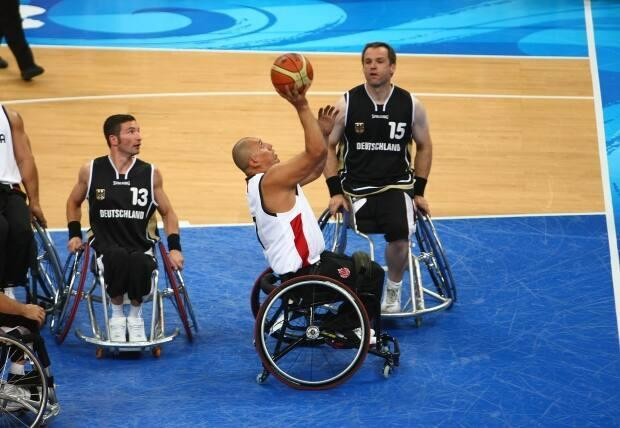 Peter won three Paralympic gold medals in wheelchair basketball.