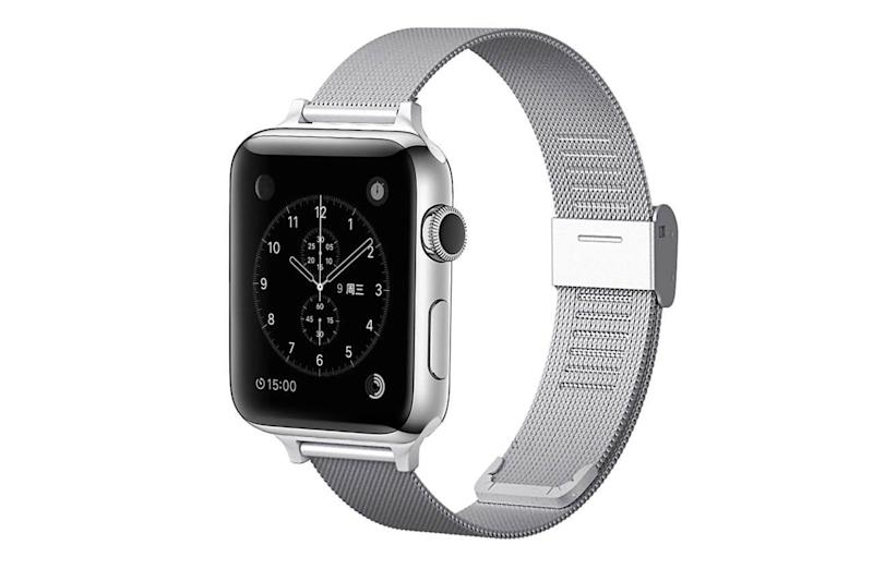 Stainless Steel Mesh Magnetic & Adjustable Apple Watch Band Apple Accessories