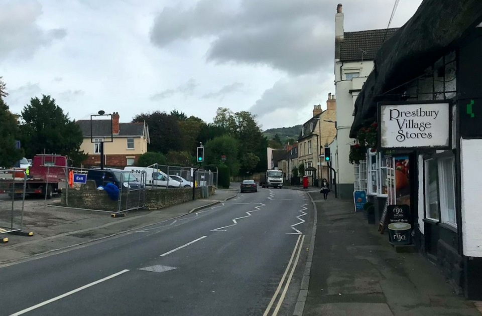 Prestbury has been dubbed the 'most haunted village in Britain' (SWNS)