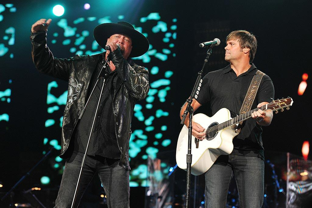 """Country duo Montgomery Gentry's tune """"My Town"""" was the perfect song for the evening. Fred Breedon/Nashville Rising/<a href=""""http://www.gettyimages.com/"""" target=""""new"""">GettyImages.com</a> - June 22, 2010"""