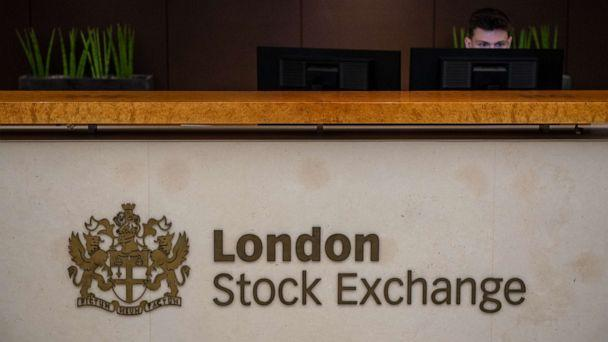 PHOTO: A reception desk at London Stock Exchange in London, Aug. 29, 2019. (Chris J Ratcliffe/Getty Images, FILE)
