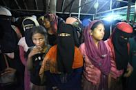 Many of the Rohingya making the crossing to Indonesia are women, hoping to move on to Malaysia for arranged marriages