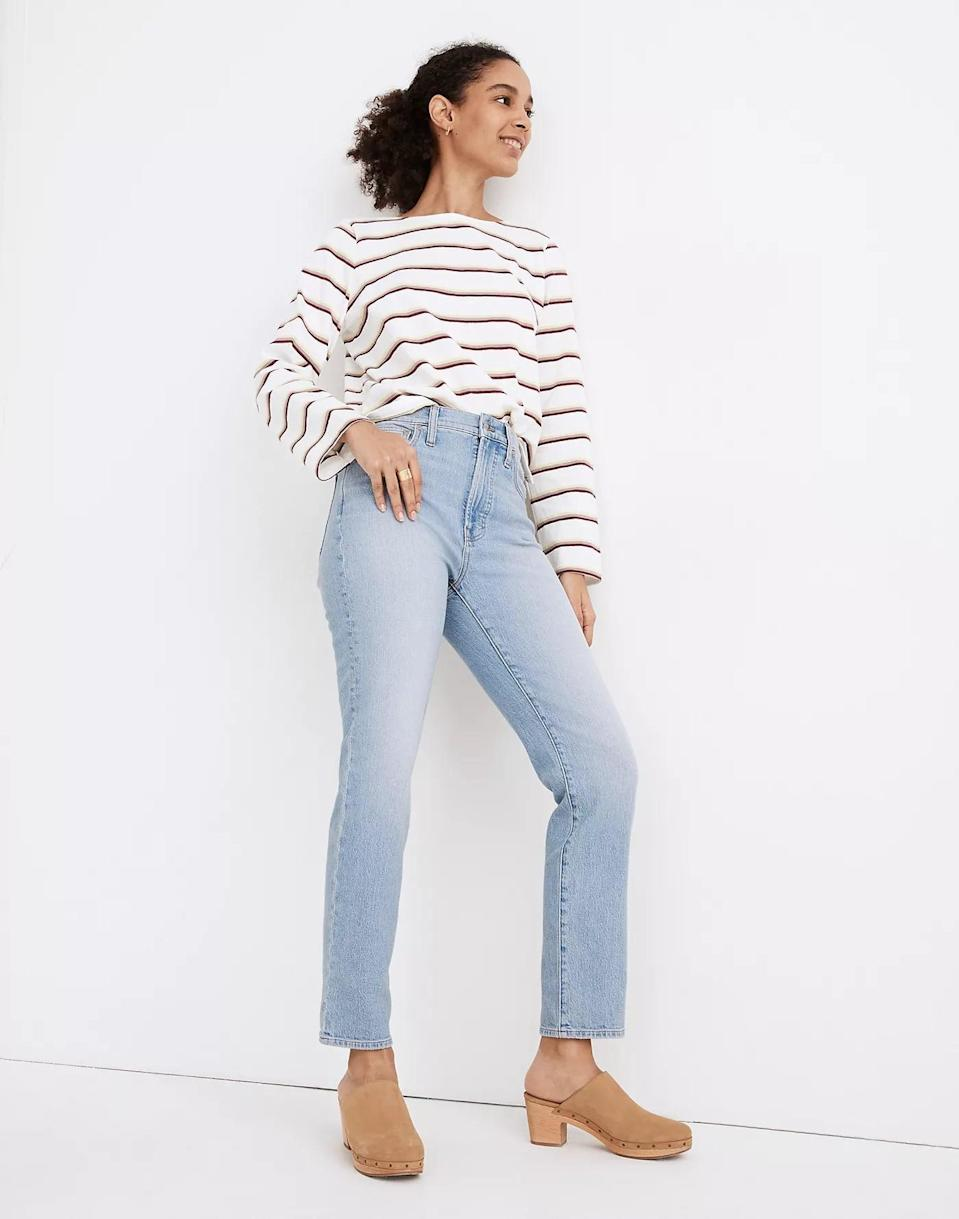 <p>It doesn't get more classic than this <span>Madewell The Perfect Vintage Jean</span> ($115).</p>