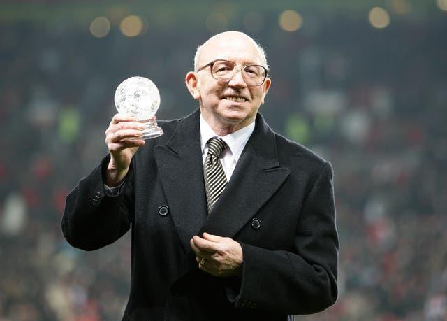Nobby Stiles, a 1966 World Cup winner, suffered with dementia in his later years (Martin Rickett/PA)