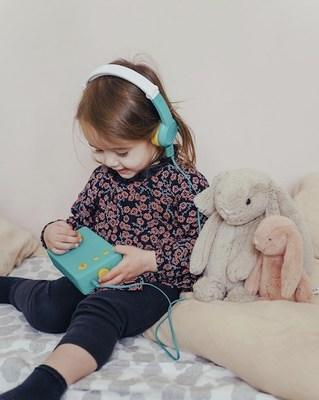 """Lunii is a unique """"story maker"""" that empowers children to craft their own story by choosing a hero, a location, an object and another character."""