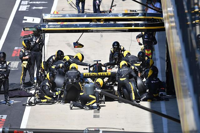 Tyre 'shock' led to Renault's unusual tactics