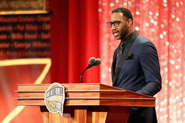 Tracy McGrady, who played for the Orlando Magic from 2000 to 2004, will return to the team as a special assistant to chief executive Alex Martins (AFP Photo/Maddie Meyer)
