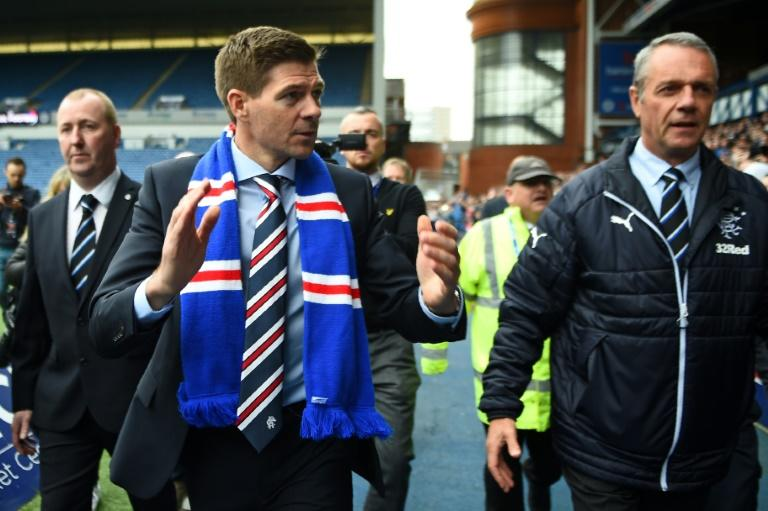 Perfect start: Steven Gerrard has impressed in his first three months in charge of Rangers